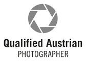 Qualified Austrian Photographer Logo