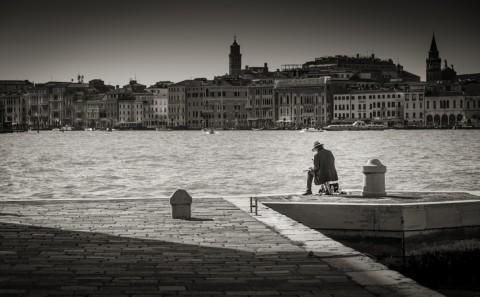 Venedig-fotosalzburg-Maler-Schwarz-Weiß-Salzburg-Fotograf